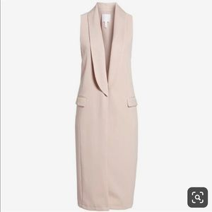 Leith Dusty Rose Duster Vest